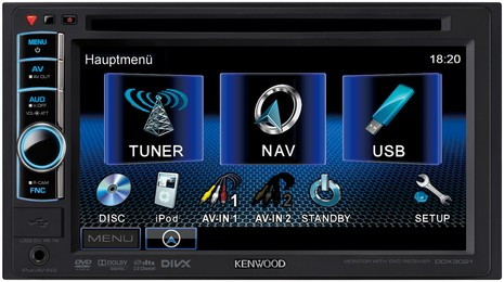 Kenwood DDX3021 DDX-3021 DDX 3021 Remote control KNA-RCDV331