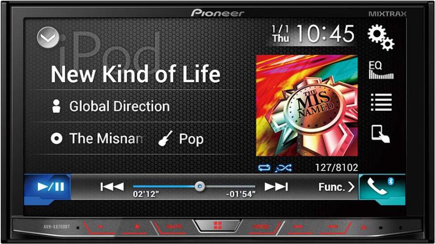 car sounds  u0026 security store pioneer avh x8700bt