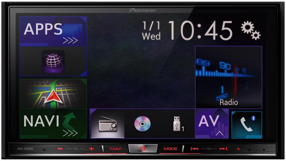 car sounds  u0026 security store pioneer avic f60dab
