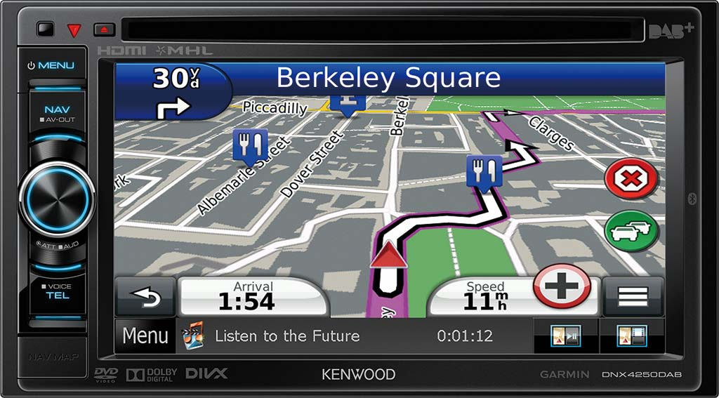 KENWOOD DNX4250DAB Multimedia Receiver DAB Driver (2019)