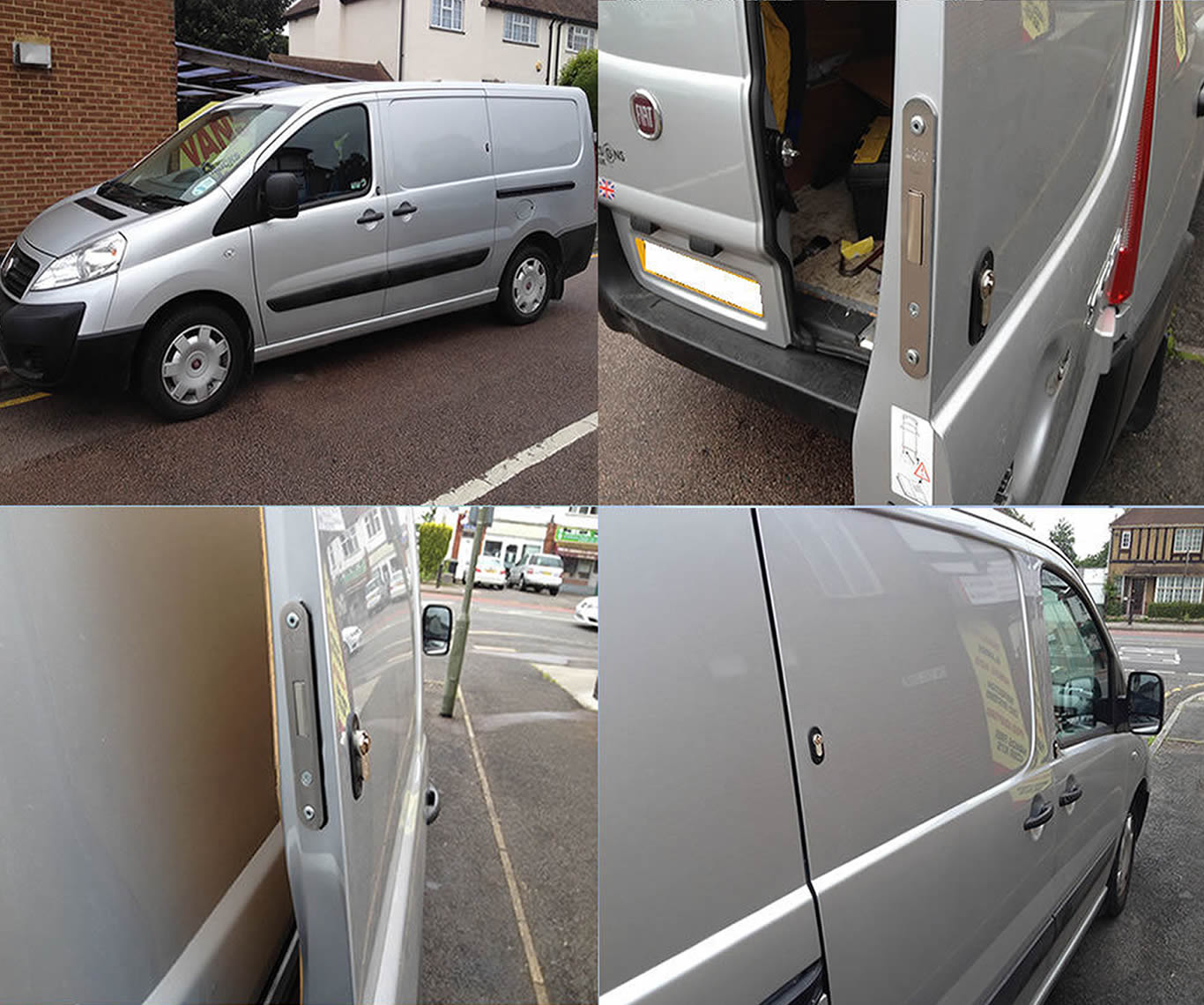 Toyota ProAce 2013-2016 Rear Van Security Deadlock Kit product picture