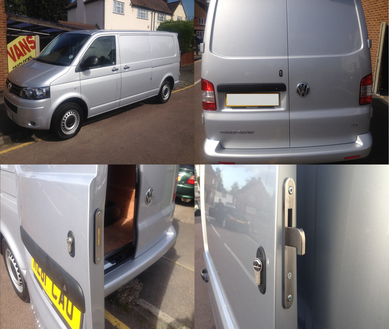 Volkswagen Transporter 2003> Rear Deadlock Kit With Side HookLock product picture